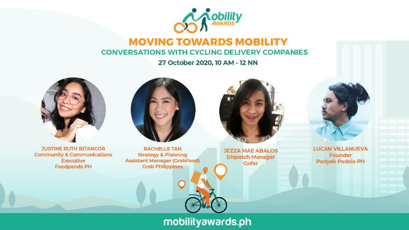 Delivery companies honor cyclist riders through Mobility Awards
