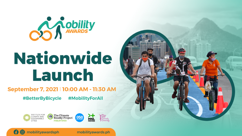 Mobility Awards Goes Nationwide Search for the most bike-friendly cities in the Philippines launched